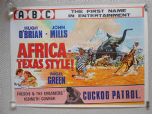 Africa Texas Style / Cuckoo Patrol (1967) Double Bill Film Poster